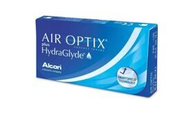 Air Optix plus HydraGlyde(pk3)