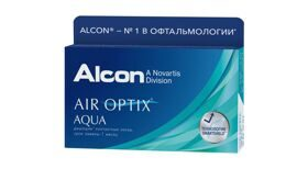 Air Optix Aqua 6шт